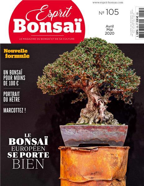 Esprit Bonsaï n°105 - Avril_ami 2020