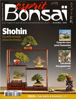 Esprit Bonsai International #75 April-May 2015