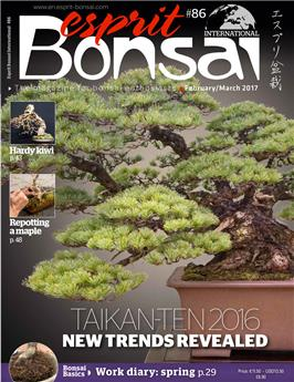 Esprit Bonsai International #86 Feb-March 2017