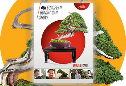 A PARAÎTRE - Catalogue officiel de l'exposition European Bonsai-San Show -Saulieu 2016